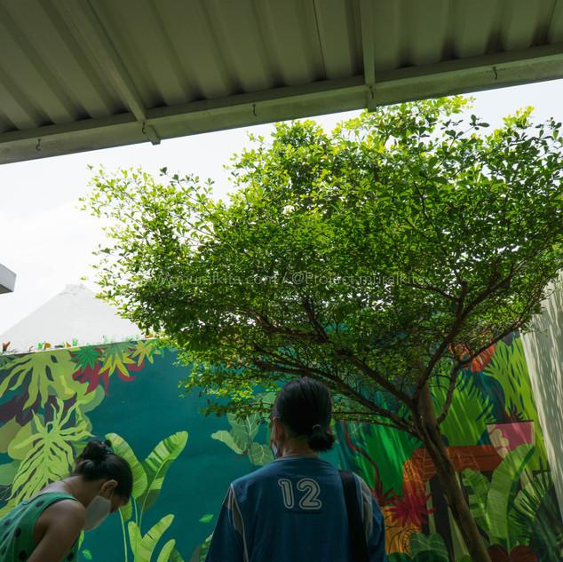 Hasil Mural & Klien