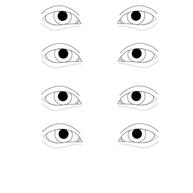 Vector - Eye Template