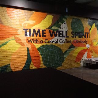 Finished Mural at night