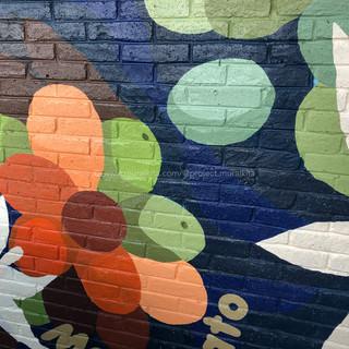 Finished Mural - Details