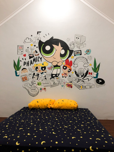 90's Characters & Icons Bedroom