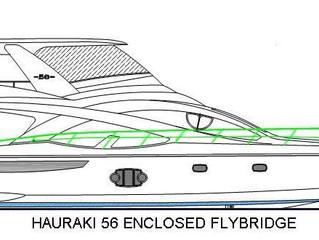 Hauraki 56' Enclosed Flybridge Hits the Market