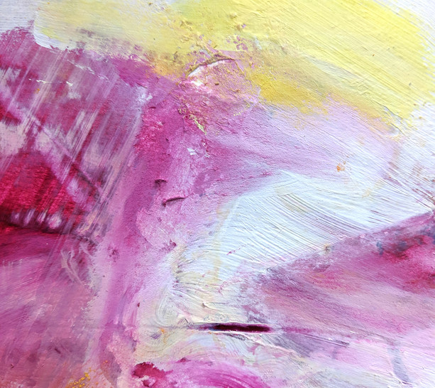 Beautiful paint effects, experimentation and play with materials