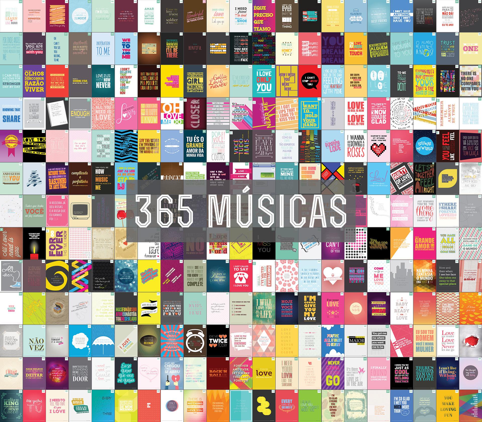 Projeto 365 músicas