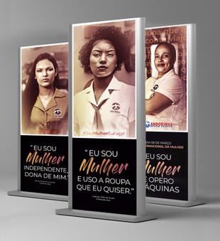 Campanha dia da mulher 2020