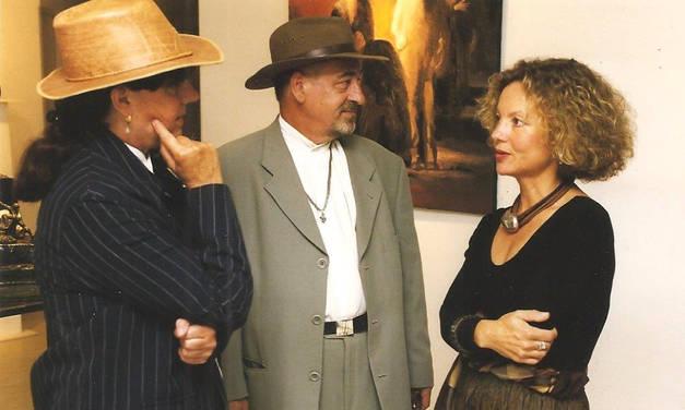 Avec Jacqueline Georges Deyme et Jean-Marc Lange