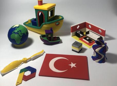 Çok Renkli ve Çok Malzemeli 3D Baskı Teknolojisi : Co Print Arıkovanı'nda!