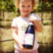 Madelyn sparkling rosé wine