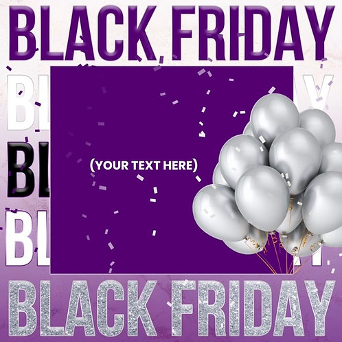 Black Friday (Style #3) - Purple