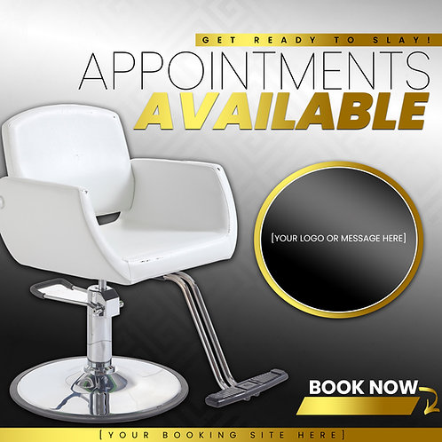 Appointments Available - Gold