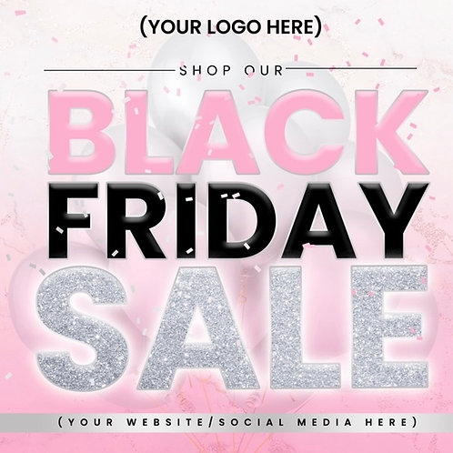 Black Friday (Style #1) - Pink