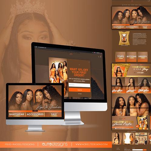 (Shopify) Website Design