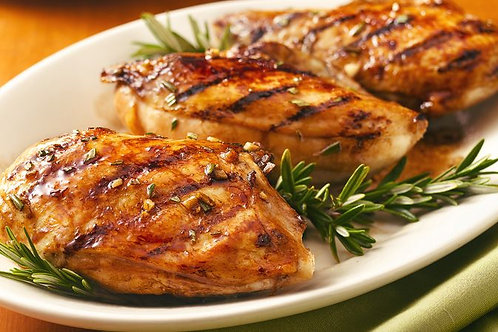 Balsamic Vinegar Marinated Chicken Breast (gluten-free). Size 1/2 Pan