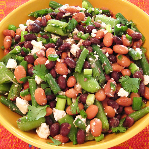 Garden Bean Salad (vegetarian, gluten-free) Size: ½ Pan