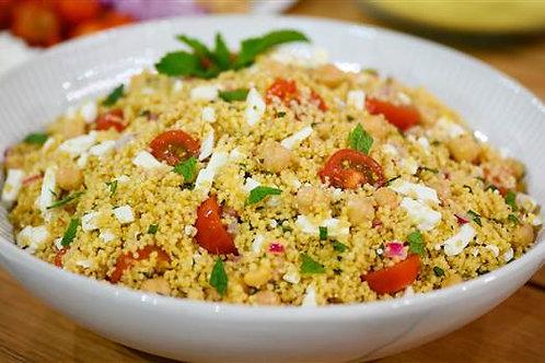 Bistro Couscous Salad (vegan) Size: ½ Pan