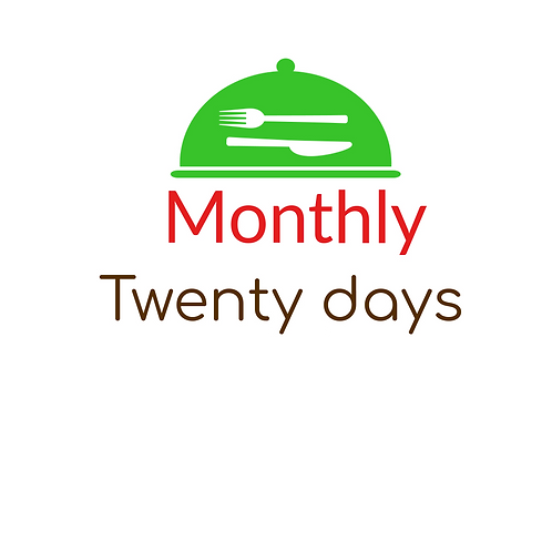 TWENTY DAYS MEDITERRANEAN PLAN,  LUNCH AND DINNER, 40 MEALS, STARTING AT