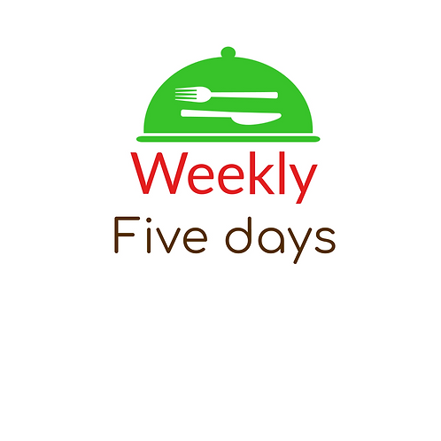 FIVE DAYS MEDITERRANEAN PLAN,  LUNCH & DINNER, 2 LUNCHES OR 2 DINNERS