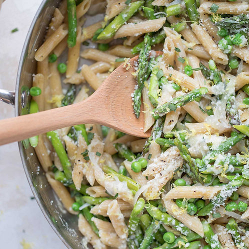 Whole Wheat Pasta with Vegetables and Parmesan Cheese (vegetarian)  Size: Full