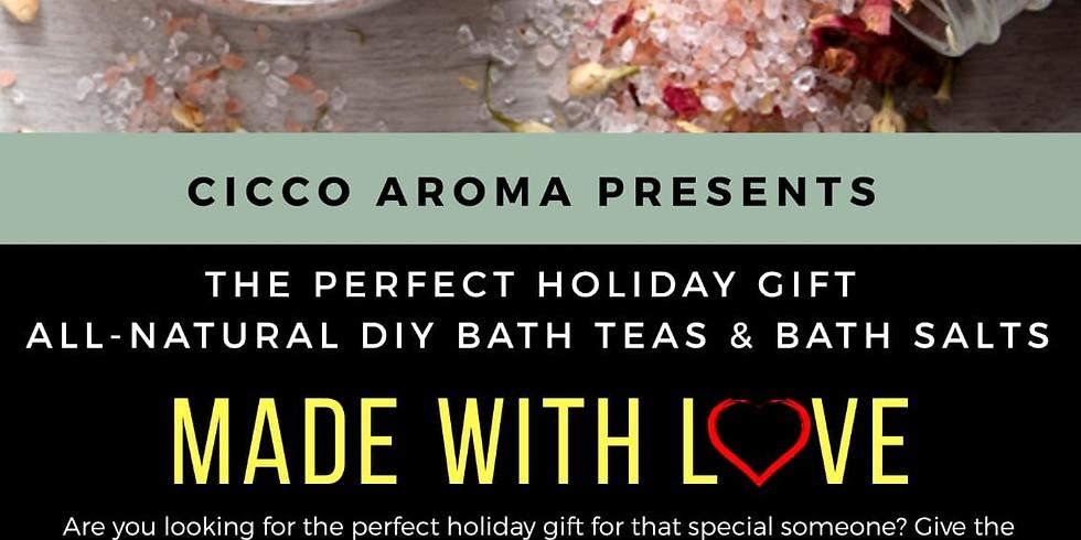 Made With Love 2   DIY Bath Teas & Bath Salts