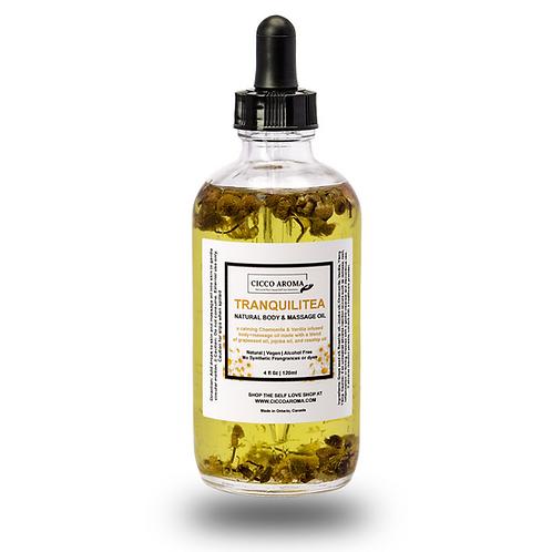 TranquliTea Natural Body Oil