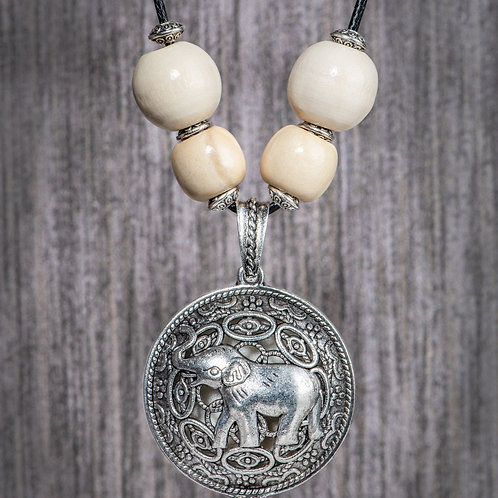 The Elephant Aromatherapy Diffuser Necklace