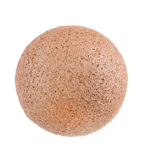 Natural Pink French Clay Infused Konjac Cleansing sponge