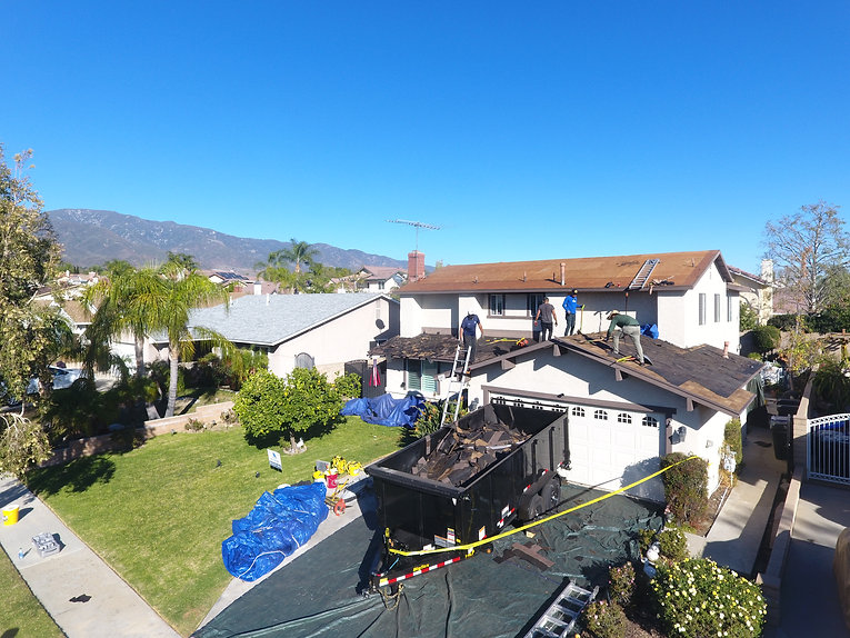 F.R. Roof Removal
