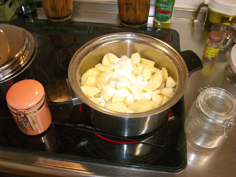 りんごジャムの作り方