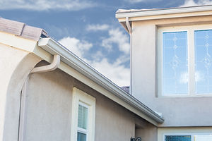 House with New Seamless Aluminum Rain Gutters..jpg