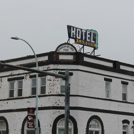 The Ghost of the Cahoon Hotel - Cardston