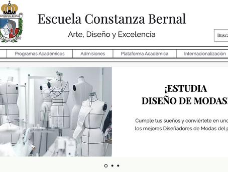 La Escuela Constanza Bernal lanza su página web