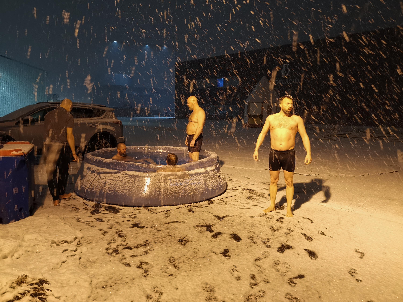 ANDRI ICELAND - ICE BATH