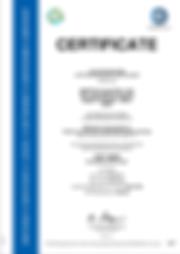Certificate - IATF 16949:2016