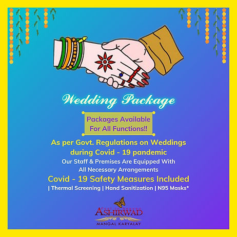 Covid weddings according to government regulations - Ashirwad Mangal Karyalay, Belgaum