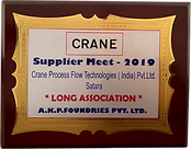 Best Velocity Performance Award - Crane