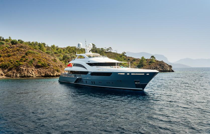luxury-big-yacht-stay-sea-around-island-background
