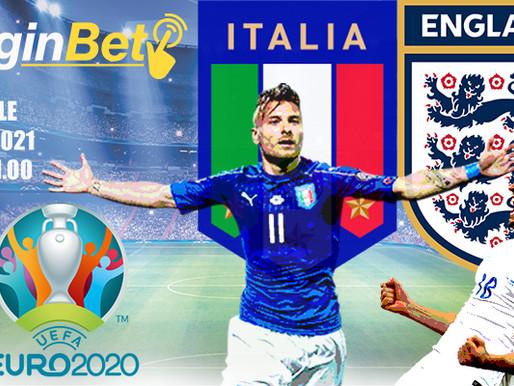 Finale Euro 2020: Italia in campo a Wembley per fare la storia dell'Europeo!