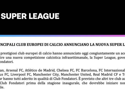 Calcio Europa: nasce la rivoluzionaria Superlega