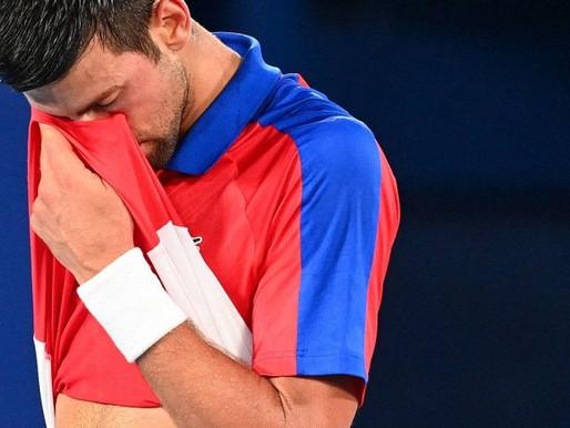 Olimpiadi Tokyo 2020: Novak Djokovic battuto da Alexander Zverev in semifinale