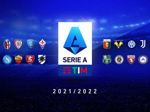 Serie A 2021/22: parte ufficialmente la nuova stagione