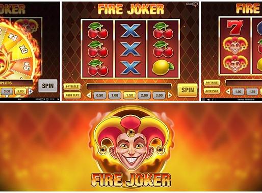 Casinò online: temperature ancor più incandescenti con Fire Joker di Play'n GO
