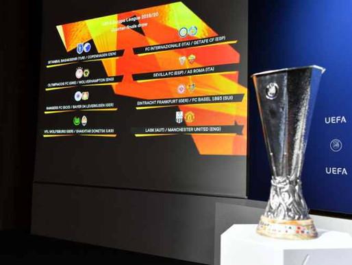 Sorteggi Europa League: alla Roma tocca l'Ajax