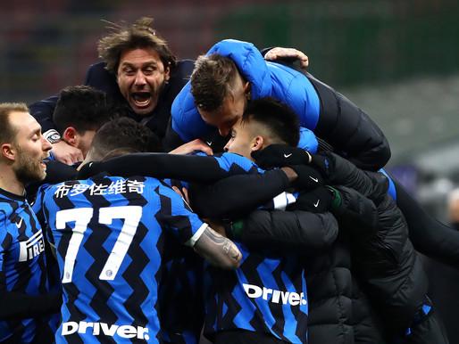 Serie A: l'Inter di Conte si gode una stagione da record
