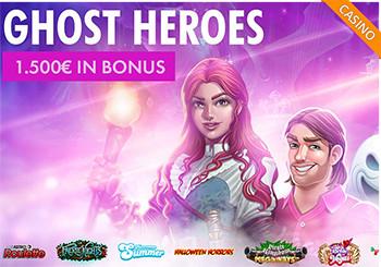 Bonus Casinò Loginbet: GHOST HEROES