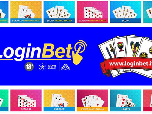 LoginBet: offerta più ampia con i nuovi giochi di carte