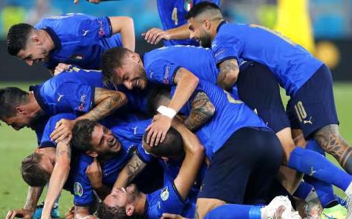 Euro 2020 - semifinali: Azzurri in campo contro la Spagna!