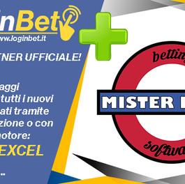 Mister Excel e i suoi canali media diventano partners ufficiali LoginBet!