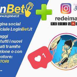 Re dei Marcatori, nuovo partner Instagram di LoginBet