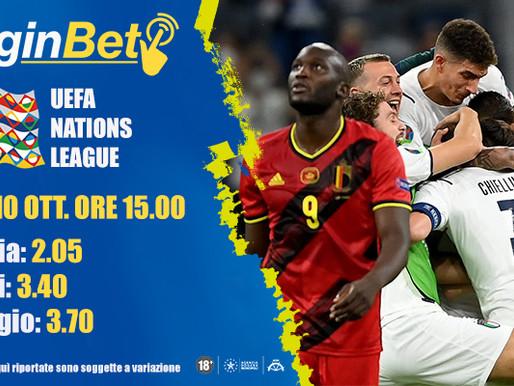 UEFA Nations League: Italia e Belgio per la finale 3°e 4° posto