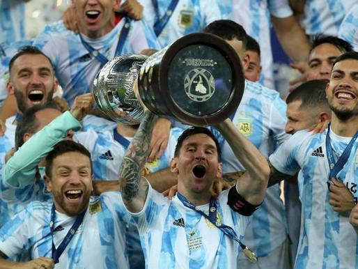 L'Argentina di Messi conquista la Copa America 2021!
